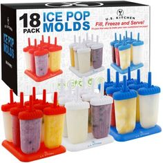 Let's make summer party popsicles for the ADULTS! Yes, these popsicle recipes have ALCOHOL in them (shotsicles or poptails) – and these frozen alcoholic popsicles and ice pops are ONLY … Popsicle Party, Popsicle Molds, Ice Pop Recipes, Popsicle Recipes, Alcohol Recipes, Homemade Popsicles, Homemade Ice, Homemade Gifts, Frozen Pudding Pops