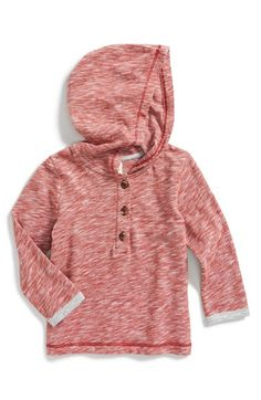 Tucker + Tate Henley Hoodie (Baby Boys) available at #Nordstrom