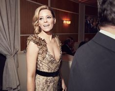 Inside the 2017 Vanity Fair Oscar Party. Elizabeth Banks