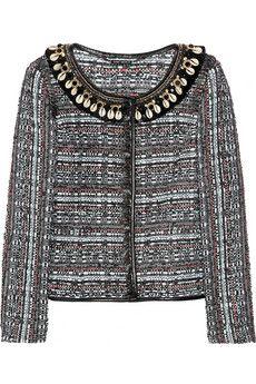 Matthew Williamson  Tokyo embellished bouclé jacket  $2,500