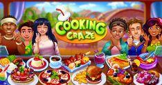 Đến với trò chơi, người chơi sẽ xoay quanh bếp nướng bánh pizza, nướng bánh mì kẹp thịt ngon và nấu các món ăn đẳng cấp thế giới.