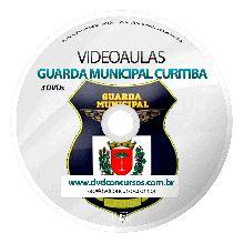 VIDEOAULAS GUARDA MUNICIPAL CURITIBA - 3 DVDS