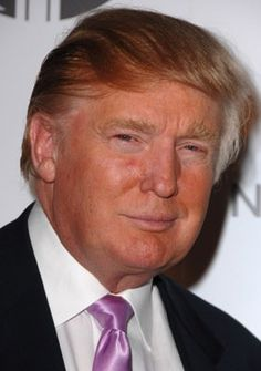 Donald Trump -multi-millionaire real estate developer, producer and actor, known for The Apprentice (2004)