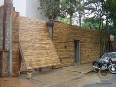 O bambu é um elementos construtivos mais antigos.