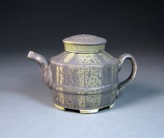 HP Bloomer Teapot, Porcelain, Soda Fired Spring 2012