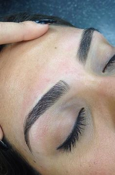 Eyebrows I can only dream of having.