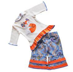 ANNLOREN Fox Doll Set