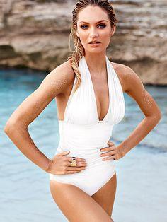 Great Mommy suit. Halter One-piece Secret by Victoria's Secret Swim