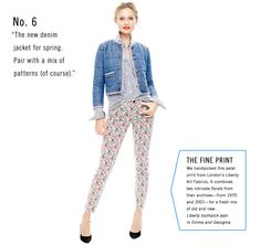 J.Crew Spring Outfit: Love the styling! I would wear this any day
