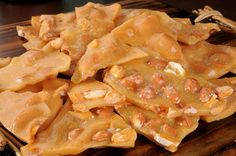 Perfectly Sweet and Crunchy Peanut Brittle