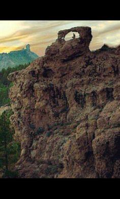 La ventana del Nublo.GRAN CANARIA.