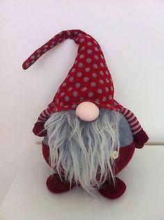 Nordic Christmas Gonk Santa Decoration UK