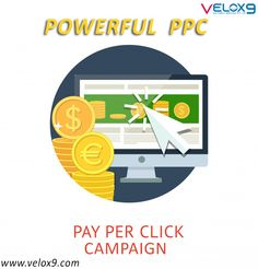 Build your startup with powerful PPC campaigns. Pay-per-click, also known as cost per click, is an internet advertising model used to drive traffic to websites, in which an advertiser pays a publisher when the ad is clicked. Well this is about PPC but when your competitors are going the PPC way then rather then organic once should use this method to be up above. Refer Velox9 for best PPC strategies. Internet Advertising, Internet Marketing, Social Media Marketing, Online Marketing Services, Best Digital Marketing Company, Pinterest For Business, Digital Media, Web Development, Concept