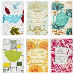 Love the new Penguin covers for The Great food Series  designed by Coralie Bickford-Smith .  View the complete range  here