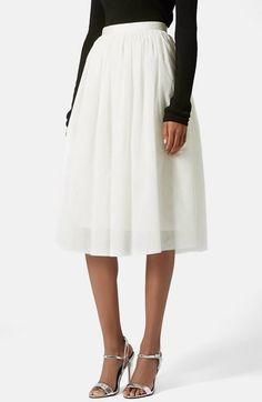 ballerina tulle skirt / topshop