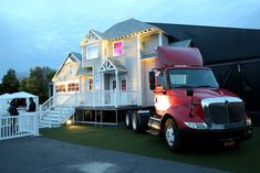 The tour, which features a custom-built house atop a red truck branded with Bacardi's bat logo, kicked off on October 31 in Philadelphia.