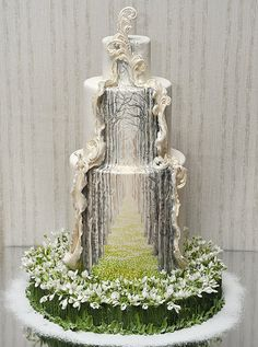 Premium Мастер-классы по украшению тортов Cake Decorating Tutorials (How To's) Tortas Paso a Paso Gorgeous Cakes, Pretty Cakes, Cute Cakes, Amazing Cakes, Amazing Wedding Cakes, Unusual Wedding Cakes, Crazy Cakes, Fancy Cakes, Unique Cakes