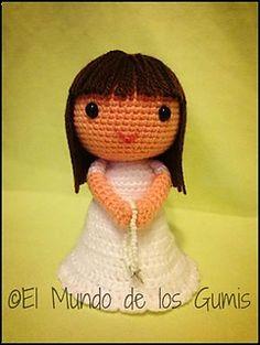 Niña Comunión pattern by Belinda Bruque- El Mundo de los Gumis