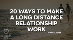 """Hey guys, """"A"""" here. As you all know, this amazing piece on long distance is written by a long-time fan of Relationship Rules, Krista Renee. When I wanted to work on long distance, I wanted it to re..."""