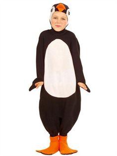 Pingvin fastelavns kostume. Heldragt kr. 185,-