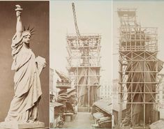 Una breve historia: La construcción de la Estatua de la Libertad