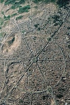 Photos of Hamadan city, From above - of Iran