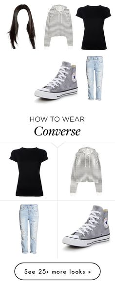 """""""Untitled #12108"""" by iamdreamchaser on Polyvore featuring R13 and Converse"""