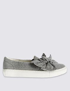 Shop All Shoes at Marks and Spencer . For versatile All Shoes with classic styling and contemporary elegance, visit Marks and Spencer Your Shoes, Trainers, Uk College, Designers, Walking, Bow, Sporty, Flats, Contemporary