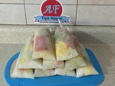 helados de pico de gallo de frutas