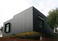 dark aluminium facade panel - Google Search