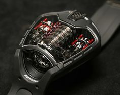 Hublot MP-05 LaFerrari Watch With Power For 50 Days
