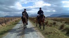 Clew Bay Trail Ride Ireland riding holidays.