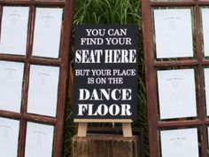 Find your seat signboard - Quirky Parties Wedding Signs, Letter Board, Finding Yourself, Easel, Wedding Inspiration, Parties, November, Wedding Plaques, Flip Charts