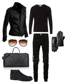 """Casual men's"" by sugarberry777 on Polyvore featuring AMIRI, Tod's, T. Anthony, American Vintage, Dita, men's fashion and menswear"