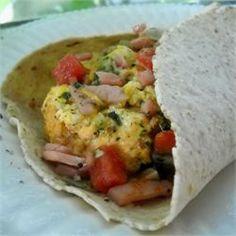 Egg Pesto Breakfast Wrap - Allrecipes.com