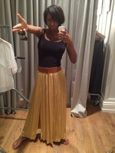 @tesssssmelody looking chic in her @ClubMonaco skirt! #YouBoughtIt