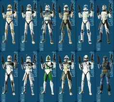 This is the newestlist of clone trooper helmets. I'll make a Revenge of the sith version soon and later I'll make helmets from the Clone Wars season 4. I hope you'll like this one too.