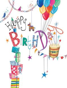 Birthday Quotes : happy birthday,joyeux anniversaire - The Love Quotes Happy Birthday For Her, Happy Birthday Celebration, Birthday Wishes Cards, Bday Cards, Happy Birthday Messages, Happy Birthday Images, Happy Birthday Greetings, Birthday Pictures, Birthday Greeting Cards