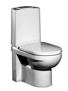 Gustavsberg WC-istuin ARTic, GBG 4300, design, soft-close -kannella, kaksoishuuhtelu 3/6l | Lattiaan asennettavat WC-istuimet | Netrauta.fi