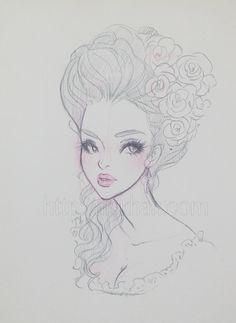 Αποτέλεσμα εικόνας για rococo fashion hair