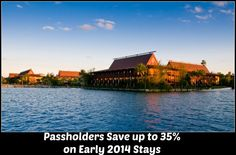 New 2014 Walt Disney World Annual Passholder Discount!