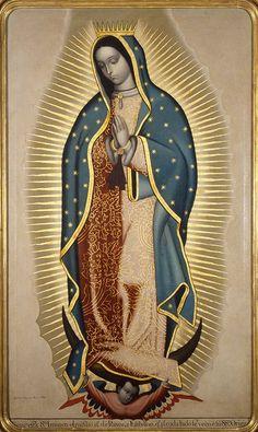 Francisco Antonio Vallejo, Virgen de Guadalupe, óleo sobre tela, sin medidas,1780, colección particular, fotografía: Rafael Doniz, catalogación: Juan Carlos Cancino.