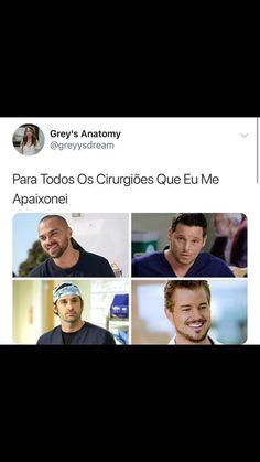 My boys ❤️🙌🏼 Derek Shepherd, Series Movies, Movies And Tv Shows, Grey's Anatomy Hospital, Grey's Anatomy Wallpaper, Anatomy Images, Owen Hunt, Lexie Grey, Greys Anatomy Memes