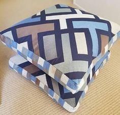 2 X Large Kas Floor Cushions - in as new condition - approx 57cm | Manchester & Textiles | Gumtree Australia Maroochydore Area - Buderim | 1157616256