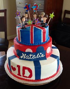 One direction cake !!!!!!!