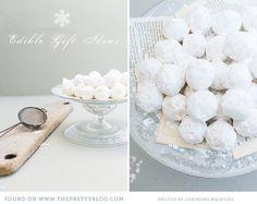 White Chocolate Truffles.