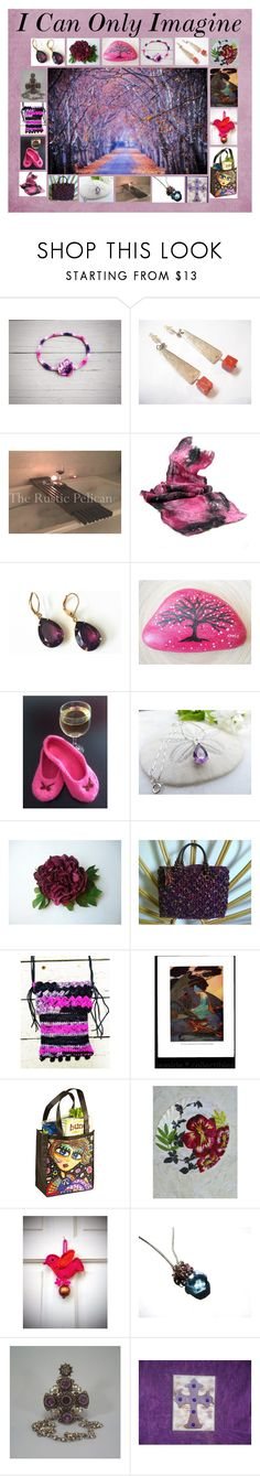 """""""I Can Only Imagine: Handmade & Vintage Gifts"""" by paulinemcewen on Polyvore featuring Hostess, rustic, vintage and country"""