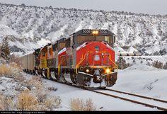 RailPictures.Net Photo: UT 5006 Utah Railway Company MK5000C at Spring Glen, Utah by Eric Williams