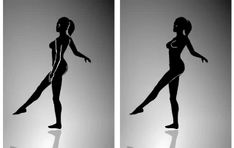 Which way is the dancer spinning in this optical illusion? Funny Illusions, Optical Illusions Pictures, Illusion Pictures, Magic Illusions, Brain Tricks, Mind Tricks, Necker Cube, 3d Drawing Tutorial, Dancers Body