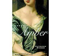 Abandoned pregnant and penniless on the teeming streets of London, 16-year-old Amber St. Clare manages, by using her wits, beauty, and courage, to climb to the highest position a woman could achieve in Restoration England-that of favorite mistress of the Merry Monarch, Charles II. From whores and highwaymen to courtiers and noblemen, from events such as the Great Plague and the Fire of London to the intimate passions of ordinary-and extraordinary-men and women, Amber experiences it all.
